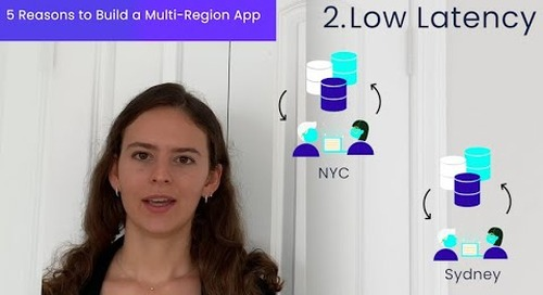 Why Build a Multi Region Application | Fault Tolerance | Low Latency | Data Privacy