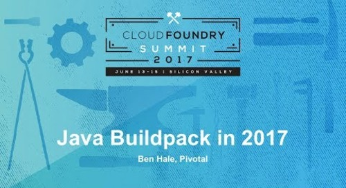 Java Buildpack in 2017