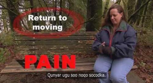 Understanding Pain - Somali subtitles