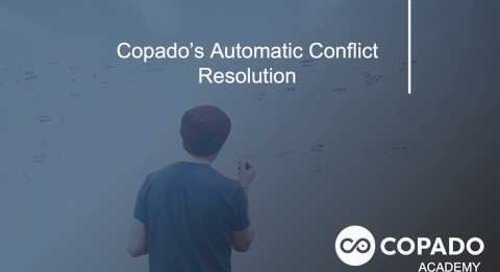 Copado Automatic Conflict Resolution