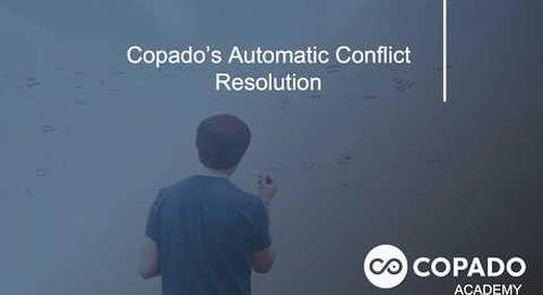 Copado Automatic Conflict Resolution