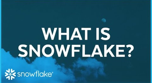 Snowflake in 8 Minutes