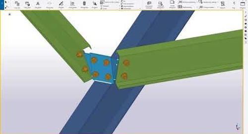 Exclusive MBS-Tekla Link for better metal buildings