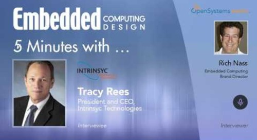 Five Minutes With… Tracy Rees, President and CEO, Intrinsyc Technologies