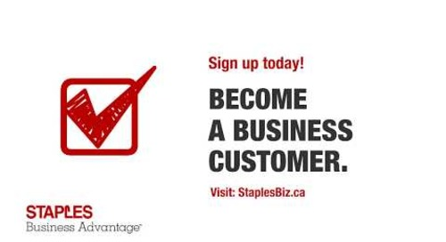 Why Choose Staples Business Advantage Canada?