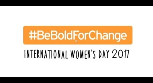 #BeBoldForChange: Aurecon celebrates International Women's Day 2017