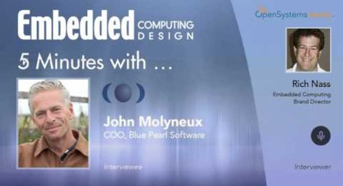 Five Minutes With… John Molyneux, COO, Blue Pearl Software