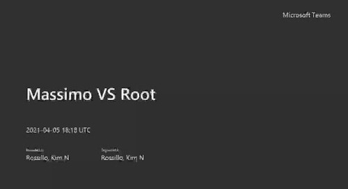 Massimo VS Root- - Meeting Recording