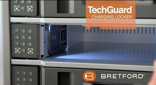 Bretford -  TechGuardConnect Locker   charge, store, secure, manage.