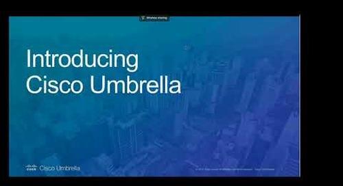 Cisco Umbrella - EDU Webinar