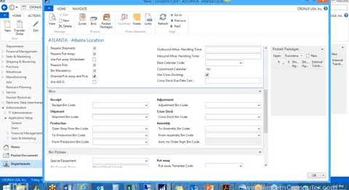 How to Setup Your Warehouse in Microsoft Dynamics NAV