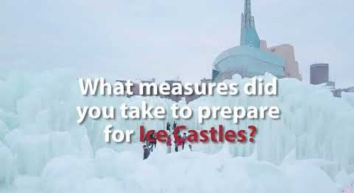 Ice Castles - Behind the Scenes with Parks Canada