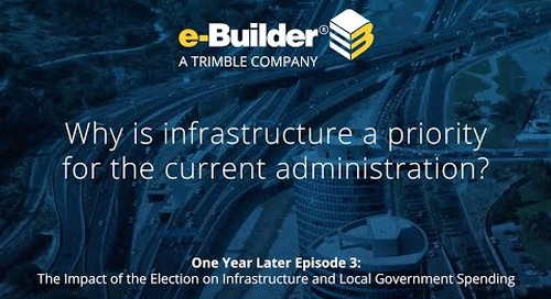 Why is infrastructure a priority for the current administration?