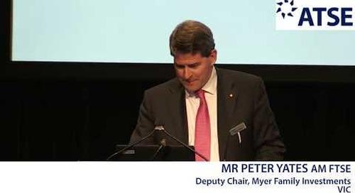 ATSE 2017 New Fellow: Mr Peter Yates AM FTSE