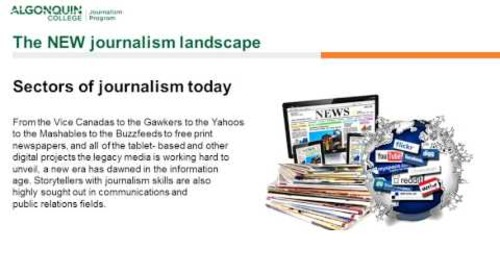 The NEW Journalism Landscape Webinar