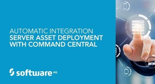 Demo: Automatic Integration Server Asset Deployment with Command Central