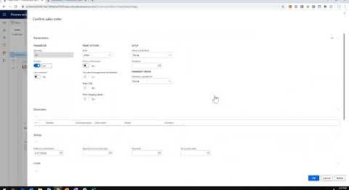 New in Dynamics 365 Finance: Median Price Revenue Recognition