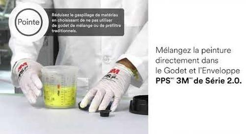 Système de pulvérisation à godet PPS(MC) 3M(MC) de Série 2.0