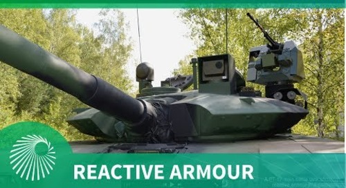 Developments in reactive armour