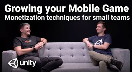 Growing your Mobile Game | Monetization techniques for small teams