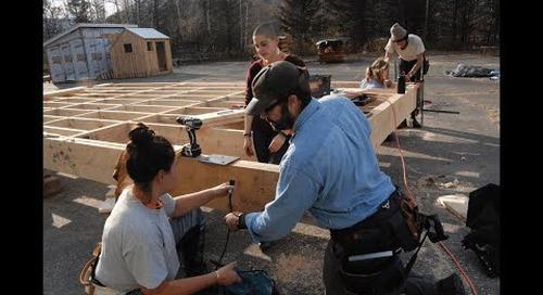Yestermorrow Semester Program: A Hands-On Design/Build Education