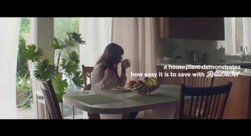"""Houseplant"" | RetailMeNot | Cash Back Offers (:15)"