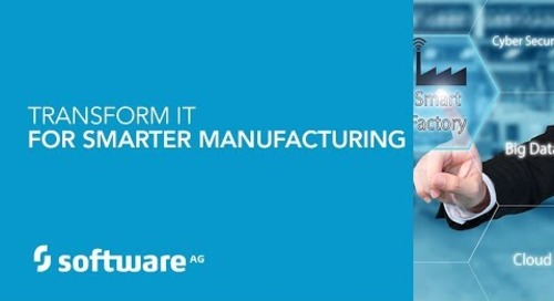 Demo: Transform IT for Smarter Manufacturing