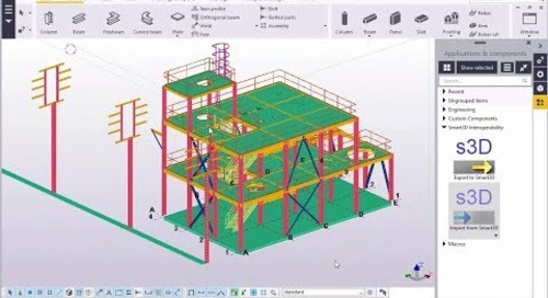 Tekla Structures/Smart3D Interoperability Overview