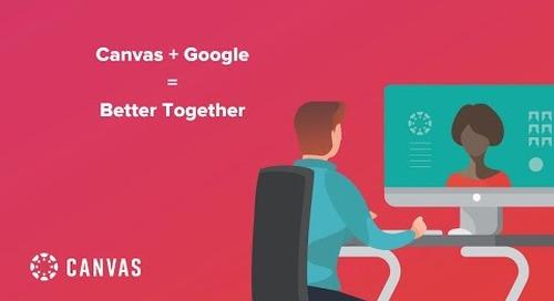 Livestream: Canvas + Google = Better Together