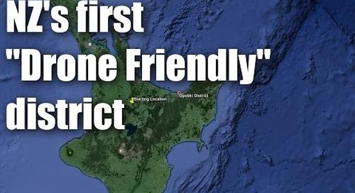 New Zealand's most drone-friendly district: Opotiki