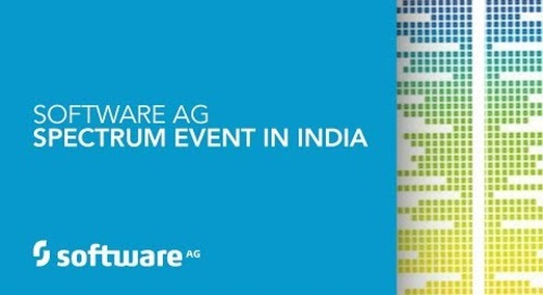 Software AG – Spectrum Event In India