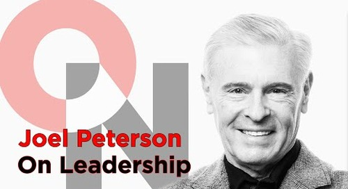 Let Trust Be Your Operating System | Joel Peterson | FranklinCovey clip