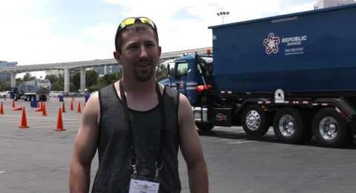 Waste Expo 2015 Mack LR Test Drive - Chad Mathiowetz, Braun & Borth Sanotation