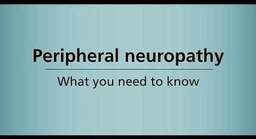 Beyond Cancer Treatment - Neuropathy