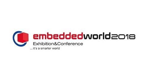 Visit us at Embedded World 2018