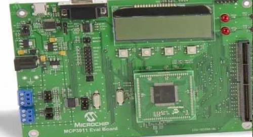 Microchip Technology MCP3911 (High Accuracy Energy Measurment)
