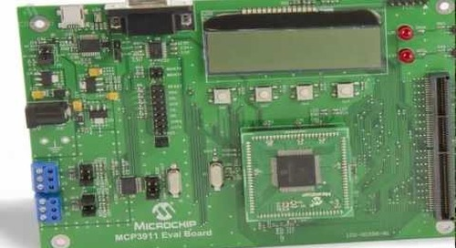 Microchip Technology MCP3911 (High Accuracy Energy Measurment)