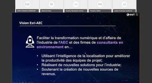 L'intelligence géospatiale, moteur de la transformation numérique de l'AEC