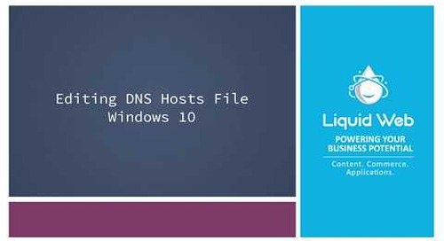 How to Edit Your Hosts File in Windows 10