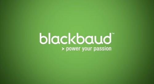 Blackbaud: Powering the Nonprofit Community