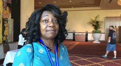Helena Ringo, Local 684 at ISO Conference