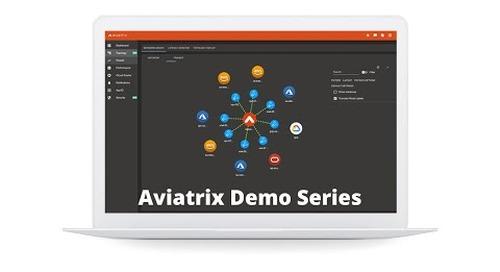 E1 Aviatrix Demo - Intro and Controller Deployment