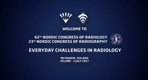 Nordic Radiology & Radiography Congress in Reykjavik, Iceland 2017
