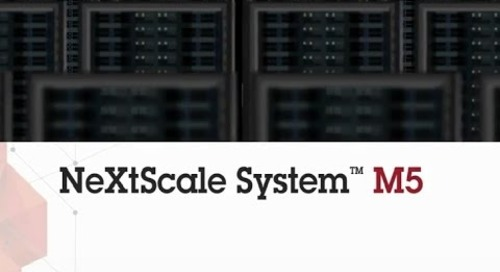 NeXtScale System M5:  Superior architecture for Scale-out computing