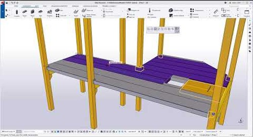 Improved Floor layout tool - Tekla Structures 2020