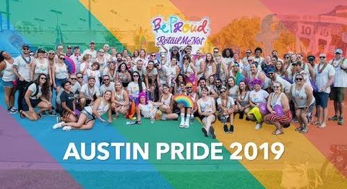 Happy Austin Pride 2019 from RetailMeNot