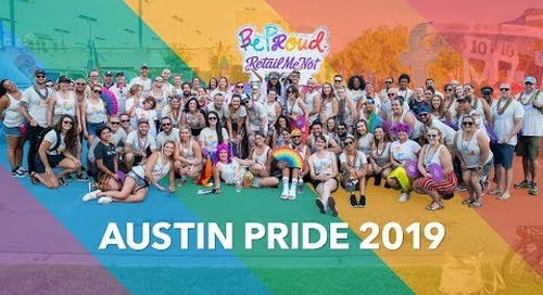 Happy Austin Pride 2019 from RetailMeNot