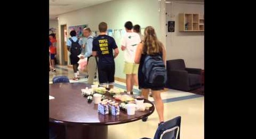 A Day in the Life of Trinity's Upper School
