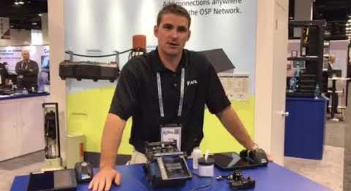 SCTE Cable-Tec - Meet Nick and demo our Fujikura Fusion Splicers