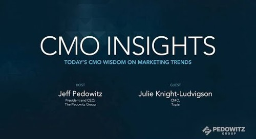 CMO Insights: Julie Knight-Ludvigson, CMO, Topia